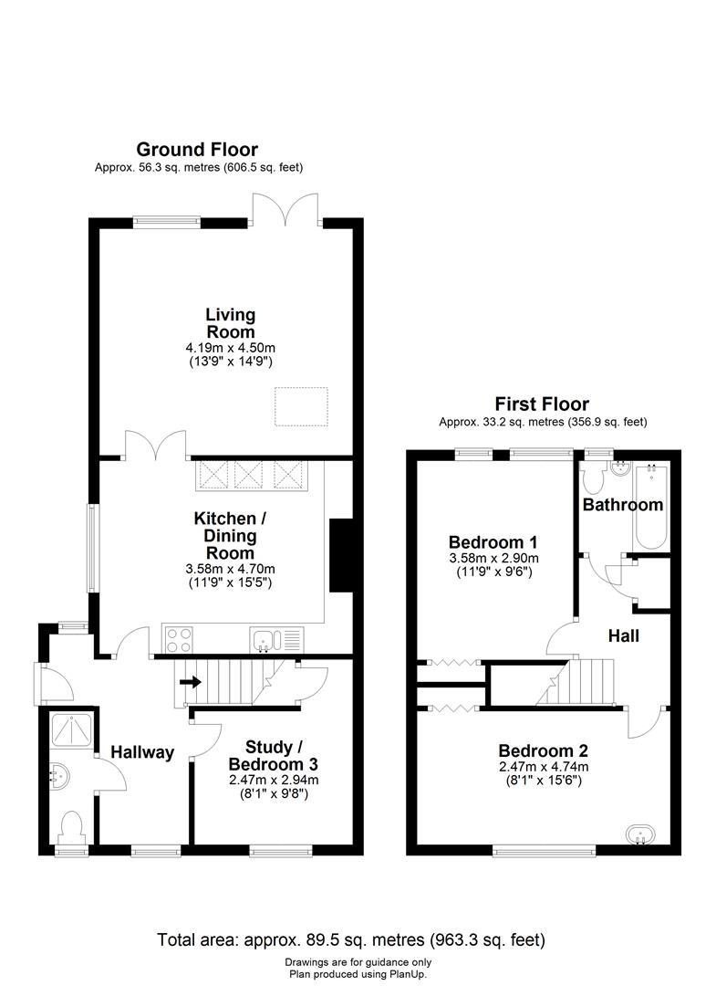 Floor plan High Street, Cherry Hinton, Cambridge